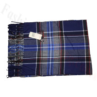 Cashmere Feel Classic Scarf Blue/Navy