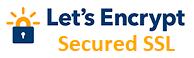 256bit SSL secured by Let's Encrypt